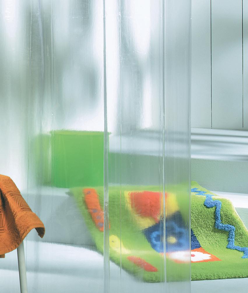 Sealskin douchegordijn Clear PEVA transparant 180x200 cm
