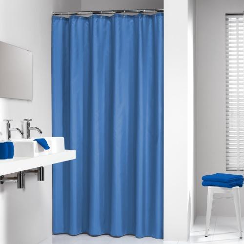 Sealskin douchegordijn Madeira 100% polyester blauw 180x200 cm