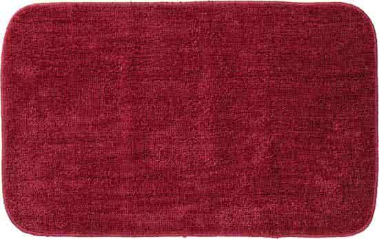 Sealskin Doux badmat polyester 50x80 cm rood