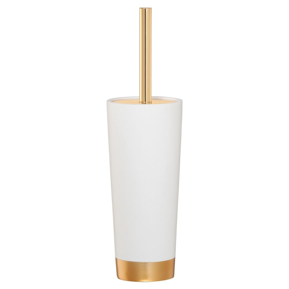Sealskin Glossy toiletborstel kunststof goud