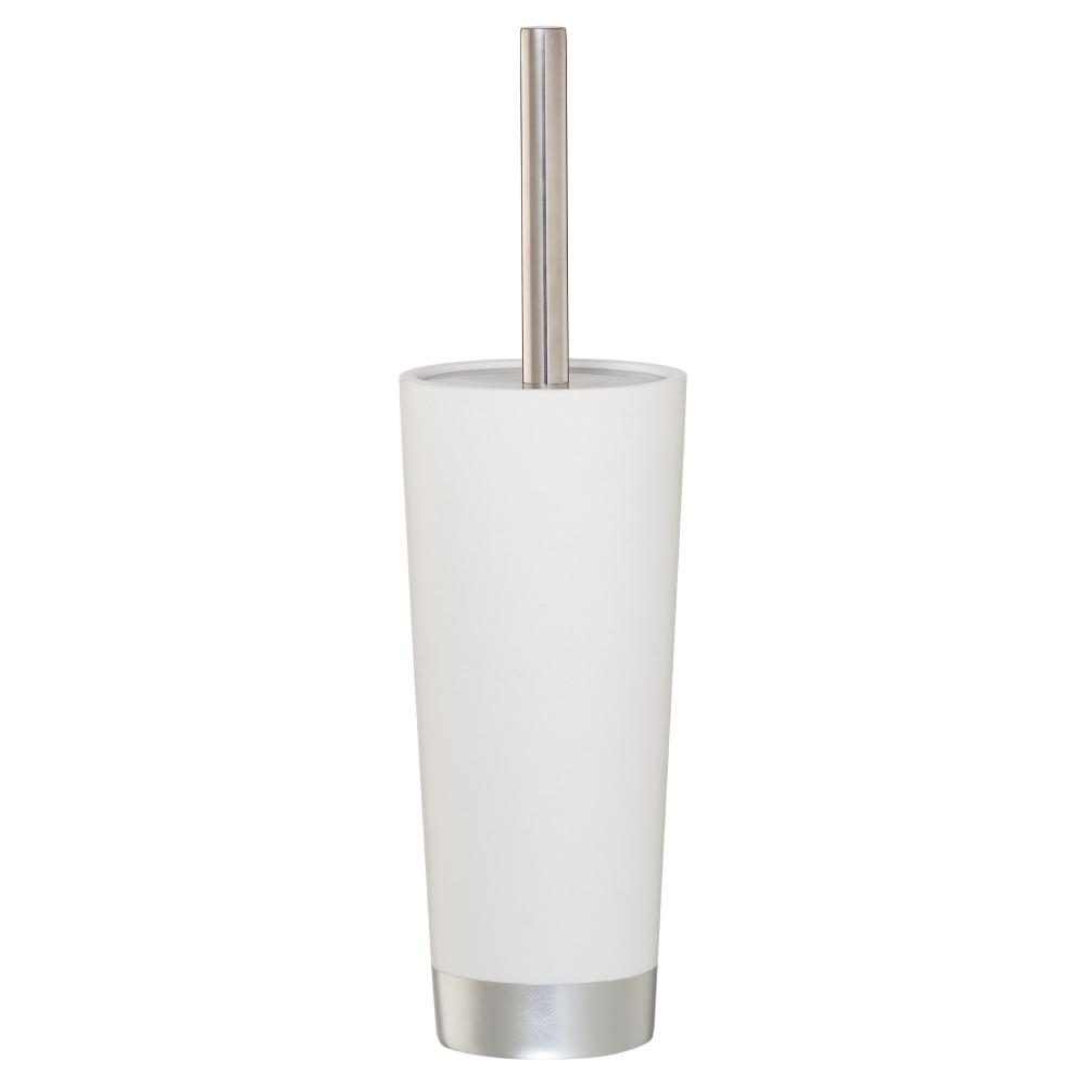 Sealskin Glossy toiletborstel kunststof zilver