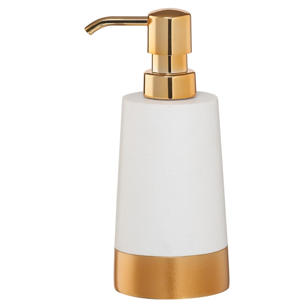 Sealskin Glossy zeepdispenser kunststof goud