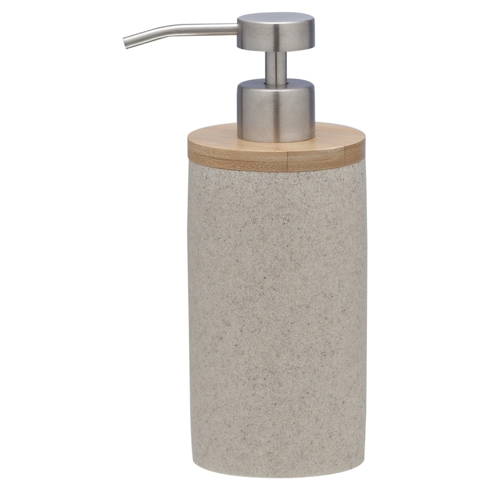 Sealskin Grace zeepdispenser kunststof zand