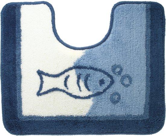 Sealskin Marina toiletmat acryl 45x55 cm blauw