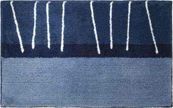Sealskin Matches badmat acryl 55x85 cm blauw