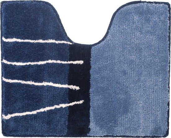 Sealskin Matches toiletmat acryl 45x55 cm blauw