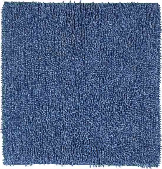 Sealskin Misto bidetmat chenille katoen 60x60 cm blauw
