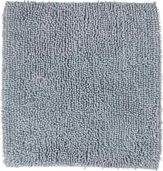 Sealskin Misto bidetmat chenille katoen 60x60 cm grijs