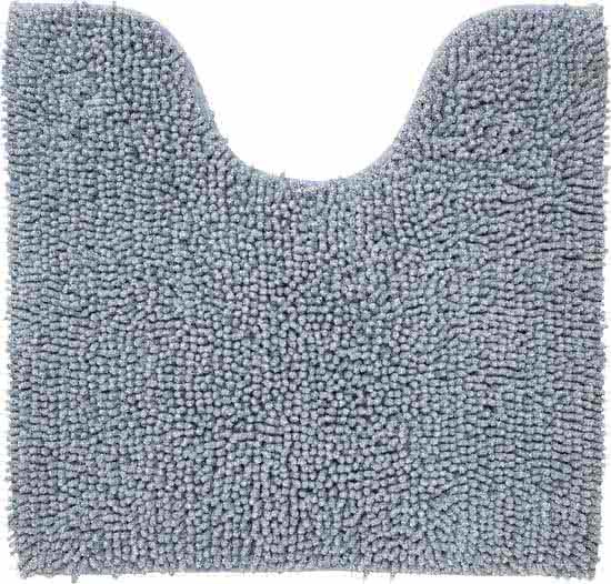 Sealskin Misto toiletmat chenille katoen 60x55 cm grijs