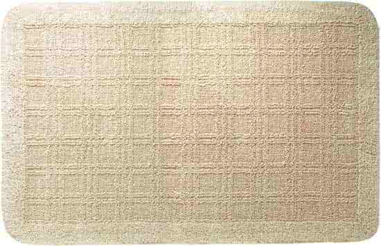 Sealskin Quadrant badmat katoen 60x100 cm naturel