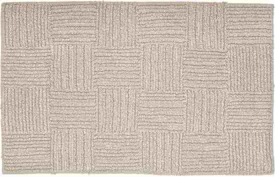 Sealskin Reverse badmat katoen 60x90 cm zand