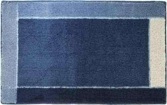 Sealskin Roma badmat acryl 55x85 cm marineblauw