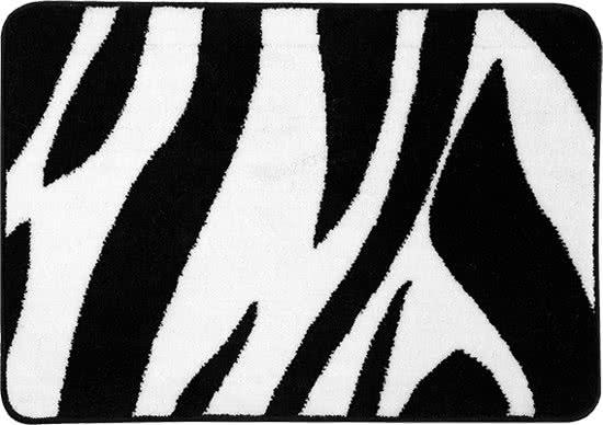 Sealskin safari badmat 60x90cm acryl Zwart
