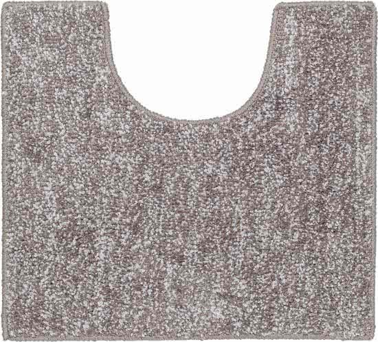 Sealskin Speckles toiletmat polyester 45x50 cm taupe