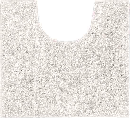 Sealskin Speckles toiletmat polyester 45x50 grijs