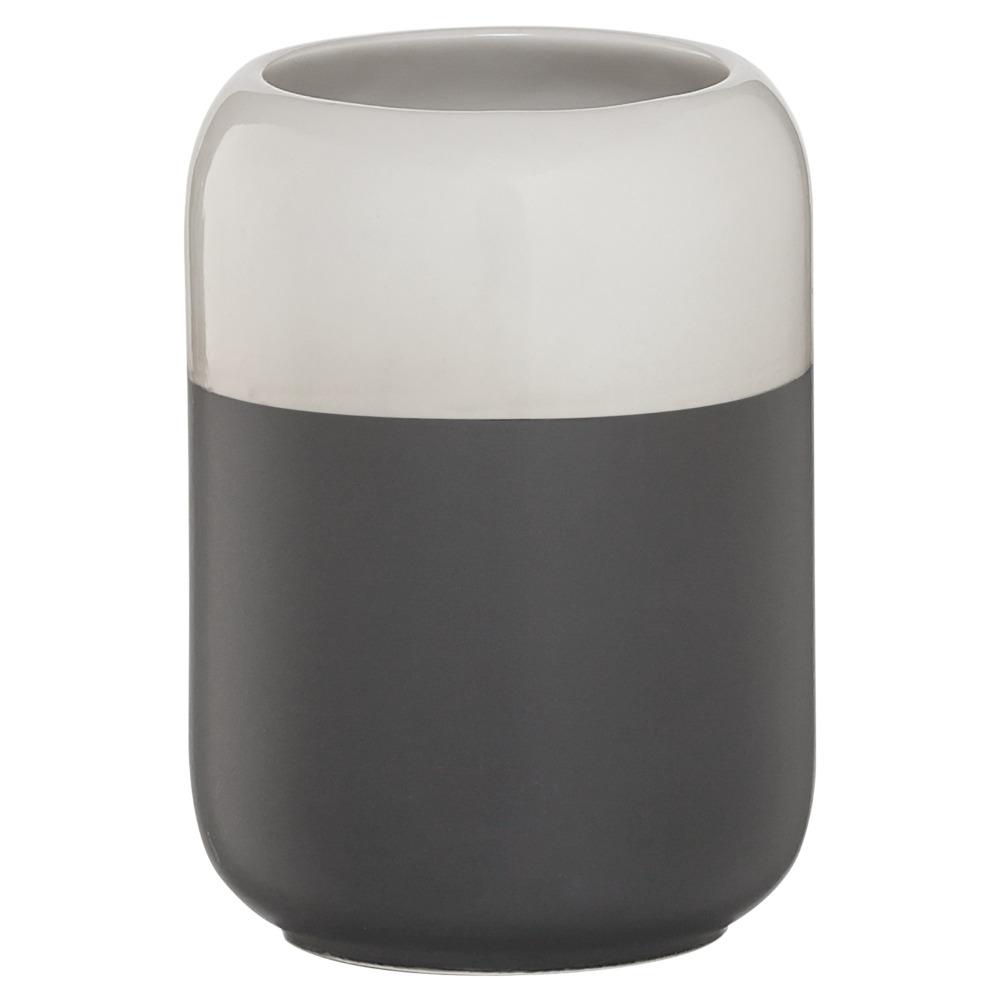 Sealskin Sphere beker porcelein donkergrijs
