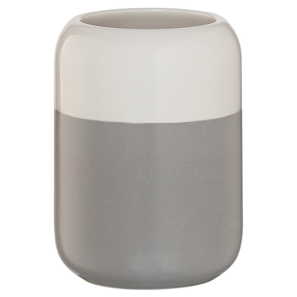 Sealskin Sphere beker porcelein lichtgrijs