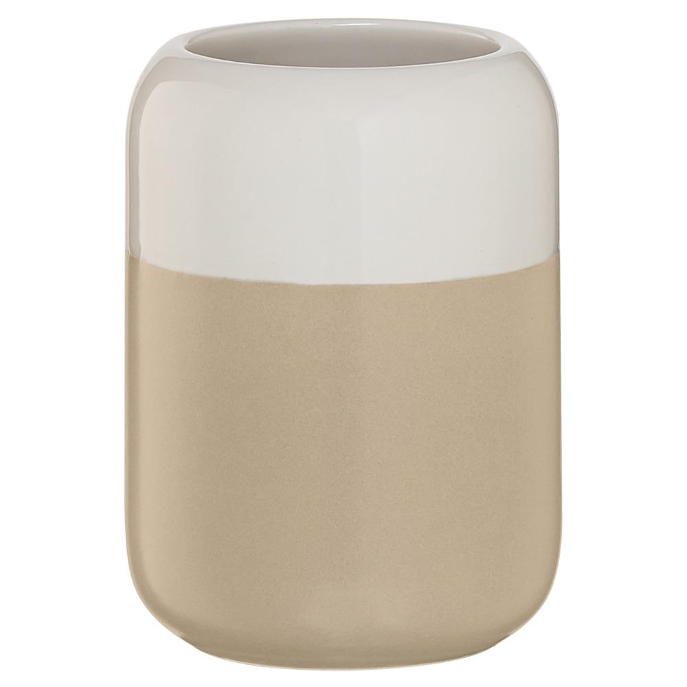 Sealskin Sphere beker porcelein zand