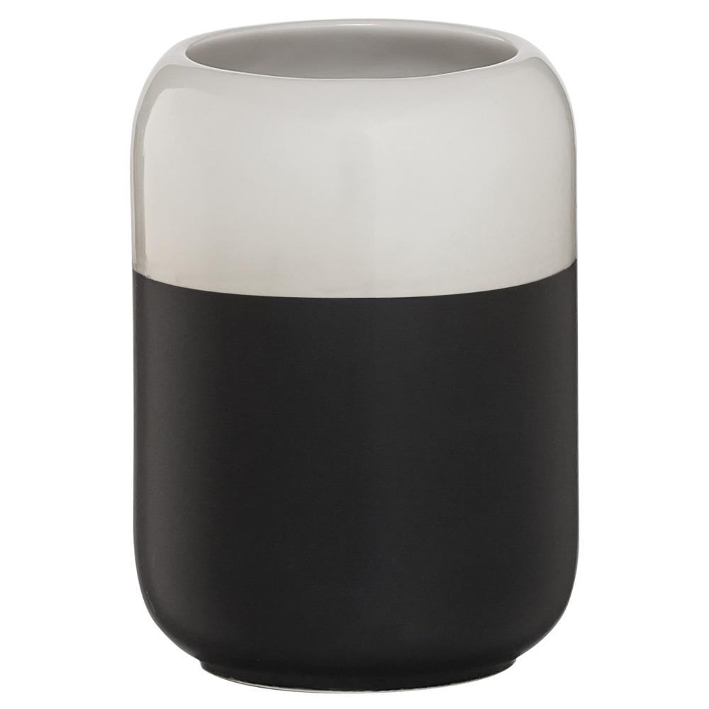 Sealskin Sphere beker porcelein zwart