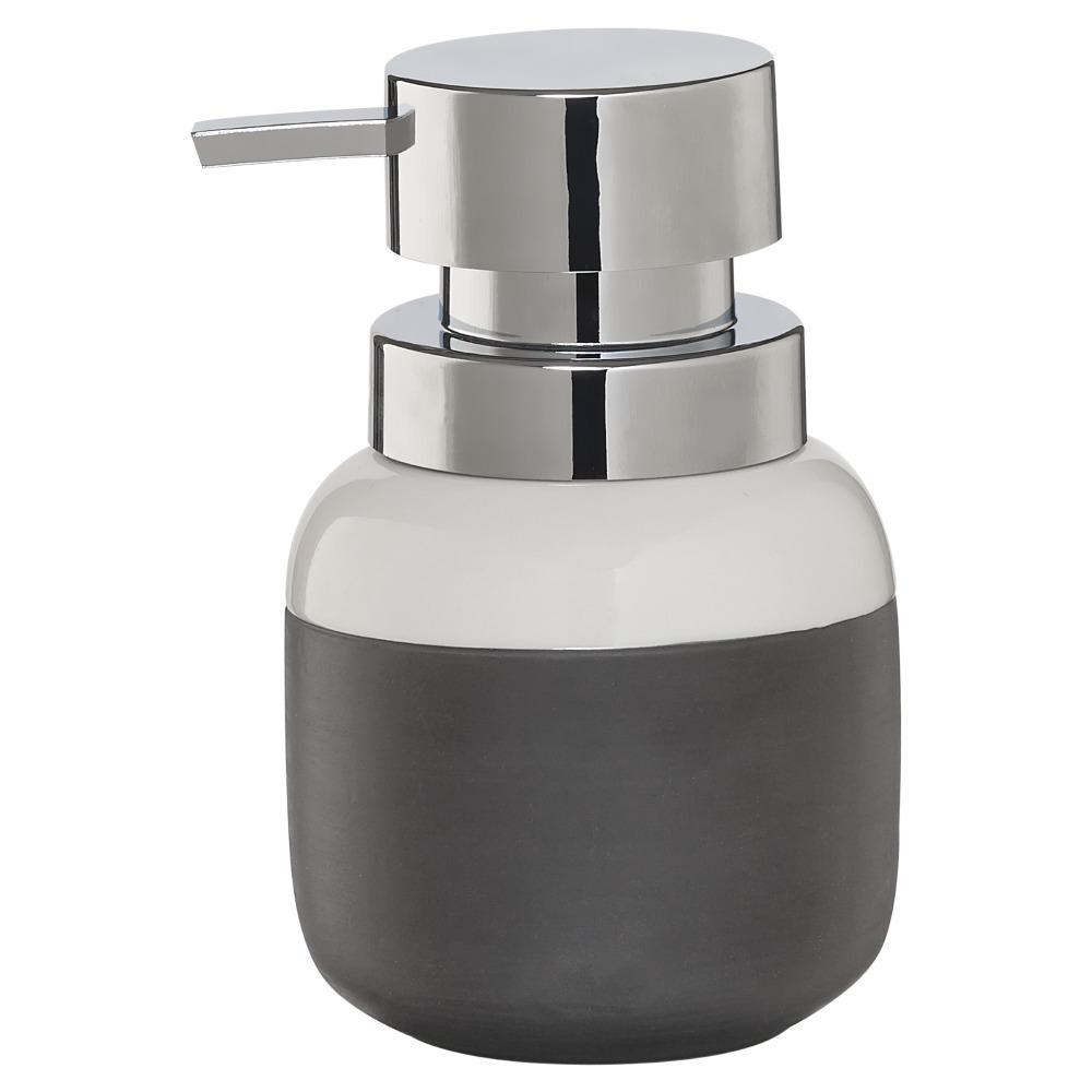 Sealskin Sphere zeepdispenser porcelein donkergrijs
