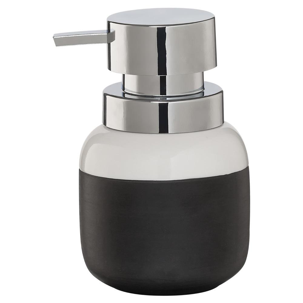 Sealskin Sphere zeepdispenser porcelein zwart