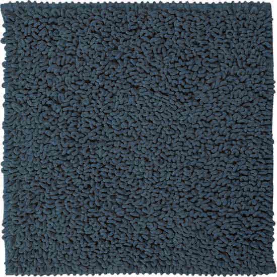 Sealskin Twist badmat microfiber 60x60 blauw