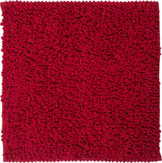 Sealskin Twist badmat microfiber 60x60 rood