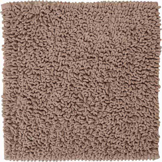 Sealskin Twist badmat microfiber 60x60 zand