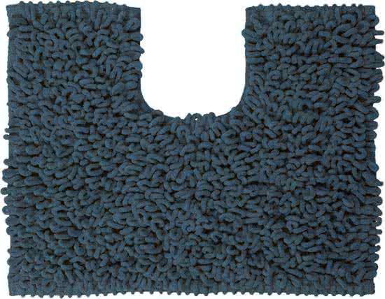 Sealskin Twist toiletmat microfiber 45x50 blauw