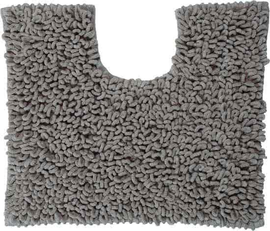 Sealskin Twist toiletmat microfiber 45x50 grijs