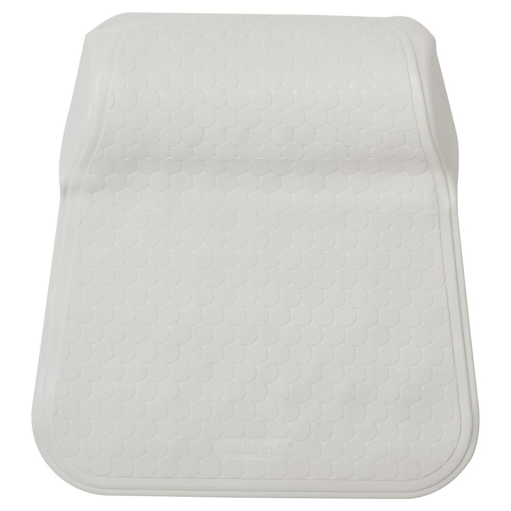 Sealskin Veilmarine Rubelle hoofdsteun 33x41 cm rubber wit