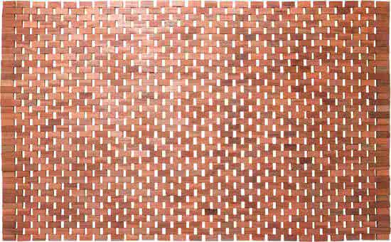 Sealskin Woodblock badmat teak 52x90 cm teak