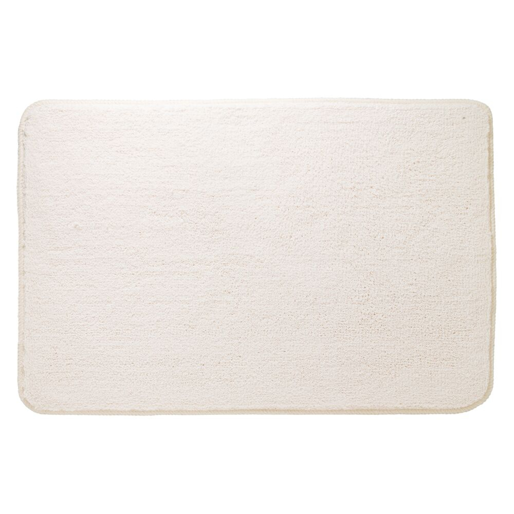 Sealskin Angora badmat polyester 60x90cm ivoor