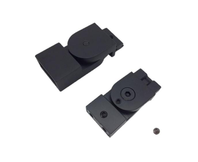 T.b.v Sealskin Soho stabilisatiesteun 45 graden mat zwart