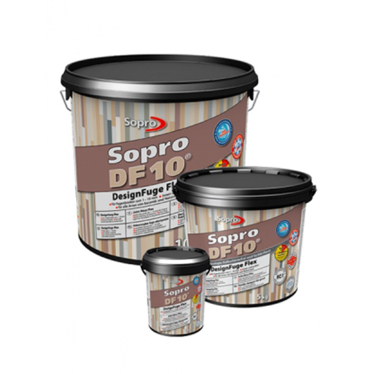 Sopro Voegmortel Sopro DF 10 Flexibel betongrijs nr. 14 1kg