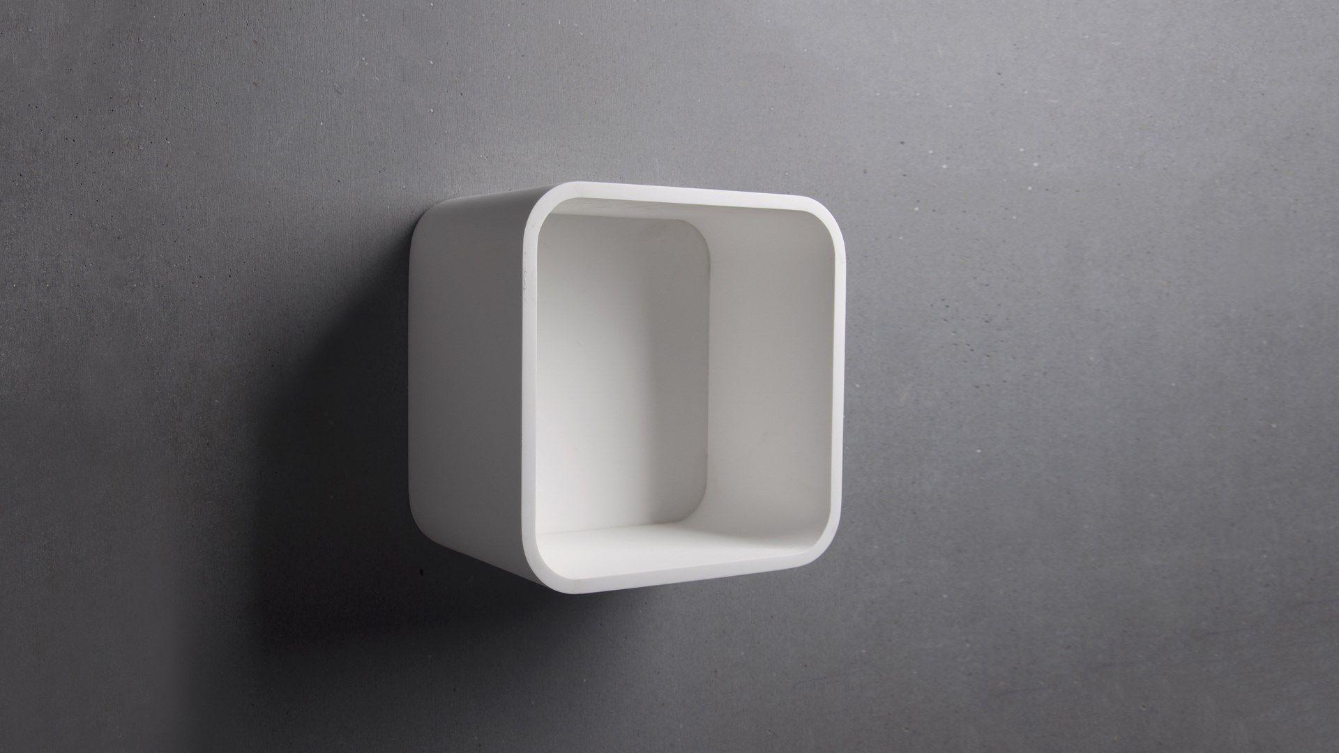SSI Design Barnstaple badkamerkast Solid Surface 30x30x20cm