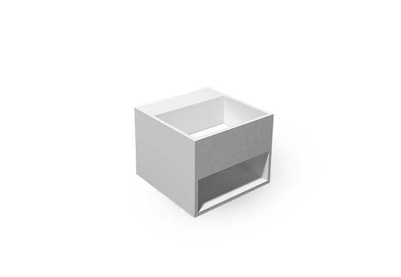 SSI Design Fondo Solid Surface Fontein 32.5x32.5cm