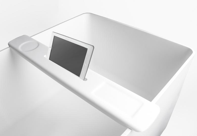 SSI Design iPad houder voor op bad