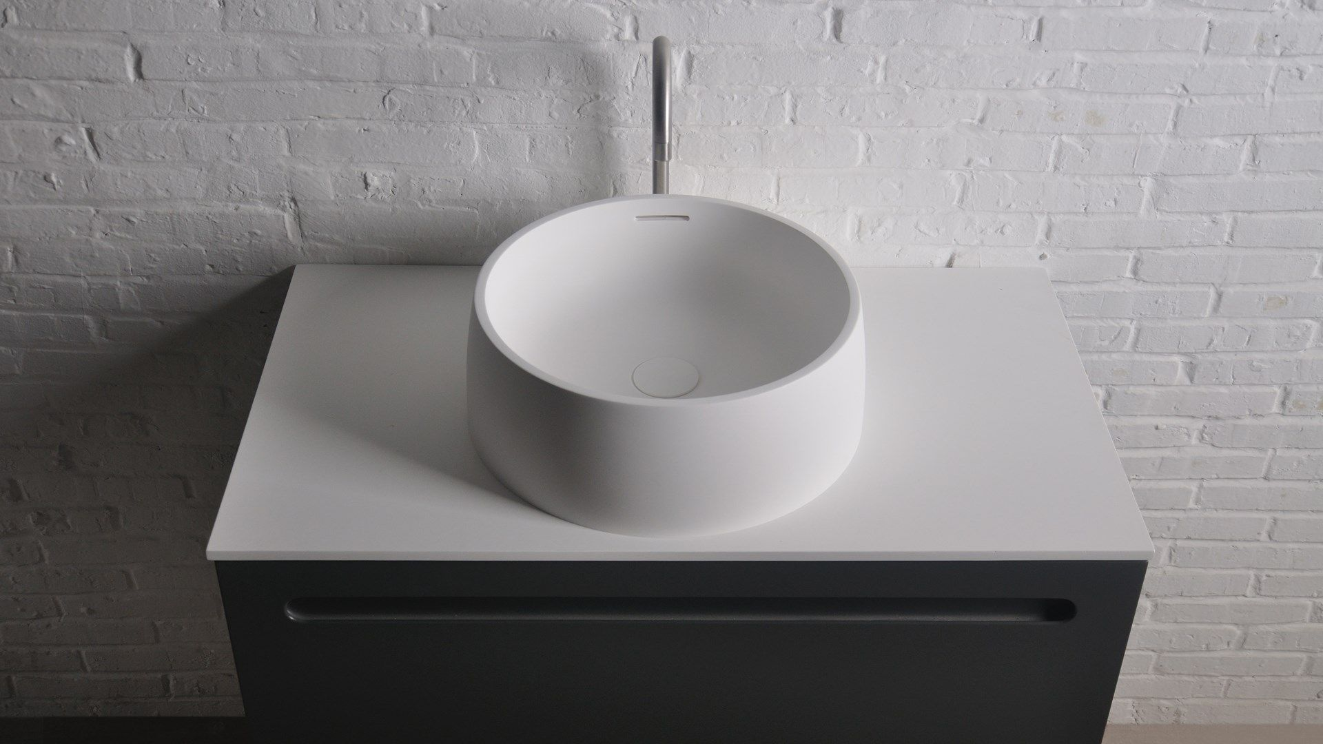 Solid Surface Badkamer : Badkamer accessoires ssi design new mexico wastafel solid