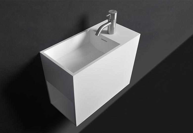 SSI Design Rhode Island fontein Solid Surface 45x22x38cm