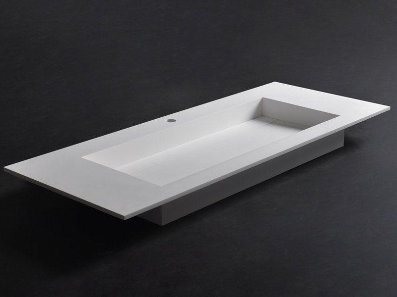 Solid Surface Badkamer : Badkamer accessoires ssi design southampton wastafel solid
