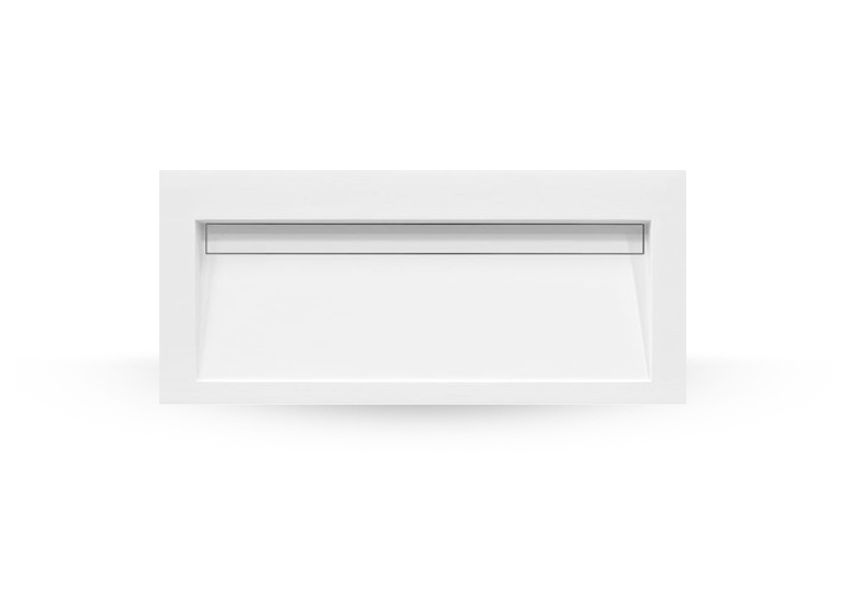 SSI Design Stretto Solid Surface Wastafel 100x45.5cm