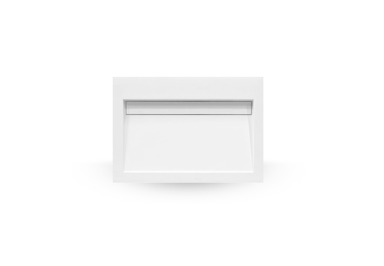 SSI Design Stretto Solid Surface Wastafel 60x45.5cm