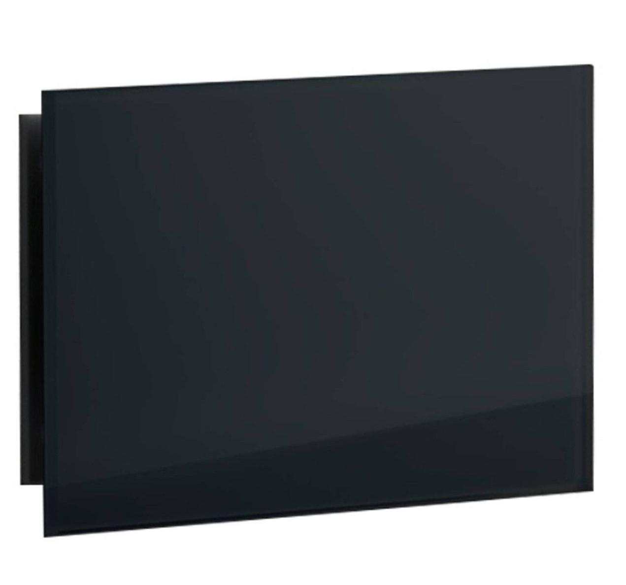 Sunshower set ventilatieroosters 11x5.4cm rechthoekig zwart