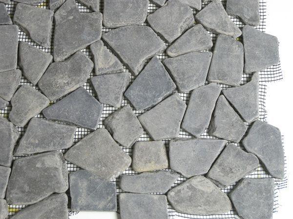Terre d'Azur Grey marble natuursteen mozaiek 30x30