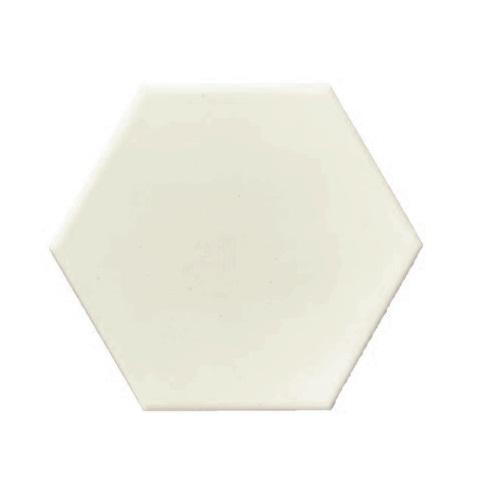 Terre D'Azur Hexagonale vloertegel beige 15x17cm hexagon F3