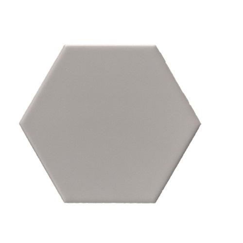 Terre D'Azur Hexagonale vloertegel grijs 15x17cm hexagon F157