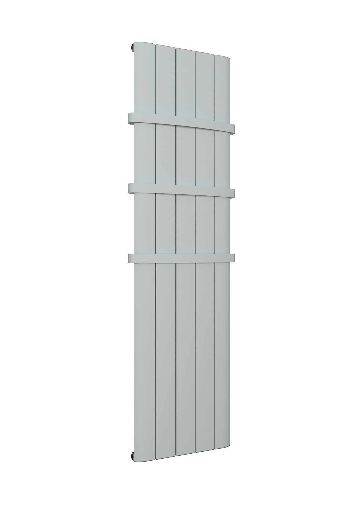 Eastbrook Withington verticale aluminium radiator 180x47cm Mat wit 1415 watt