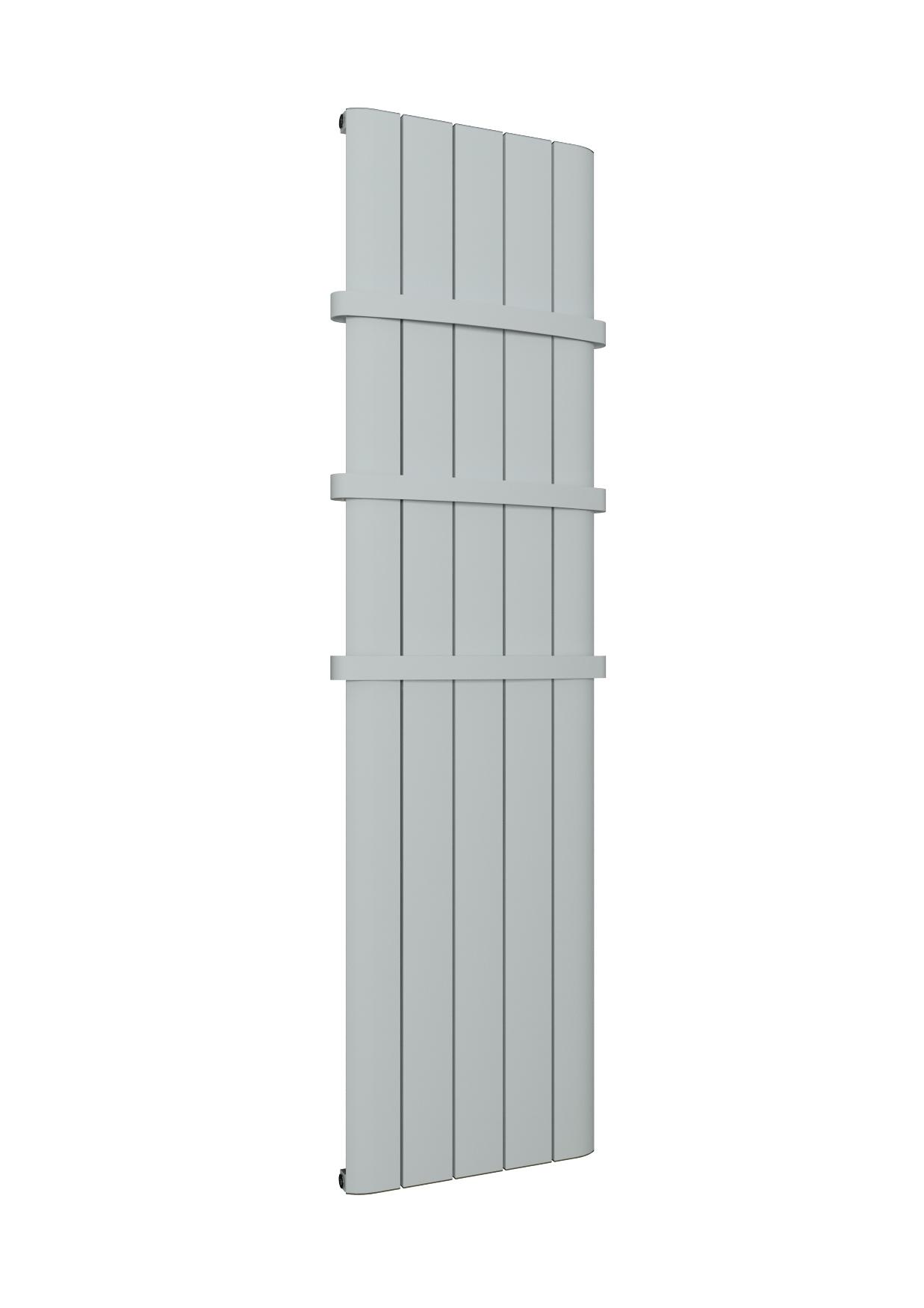 Eastbrook Withington verticale aluminium radiator 180x28cm Mat wit 838 watt