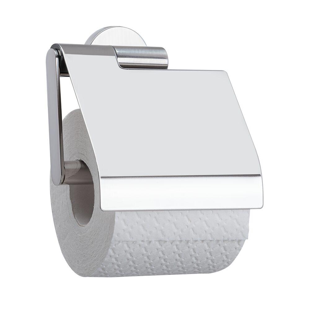 Tiger Boston toiletrolhouder klep RVS glans